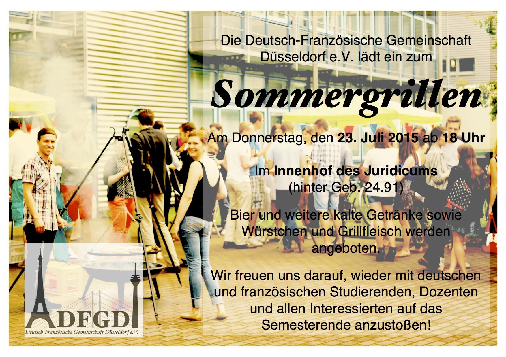 Plakat Sommergrillen2015